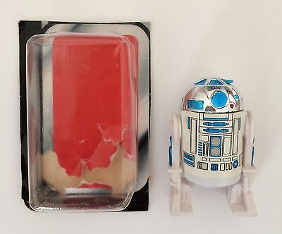 Vintage Star Wars R2D2 With Sensorscope Figure And Bubble All Original