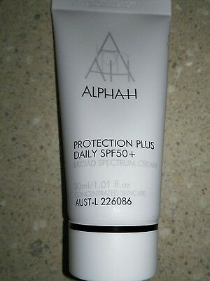 Alpha H Protection Plus Daily  SPF50 Broad Spectrum Cream Travel Size 30ml