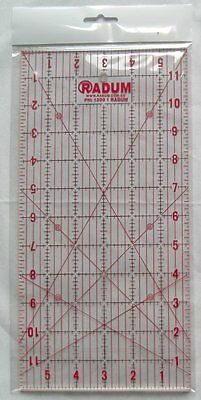 "Quilting Ruler - 6"" x 12"" - *Quilting* *Scrapbooking*"