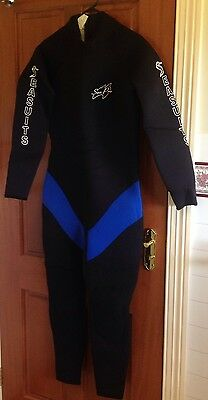 Scuba Diving Wetsuit 7mm Size XL