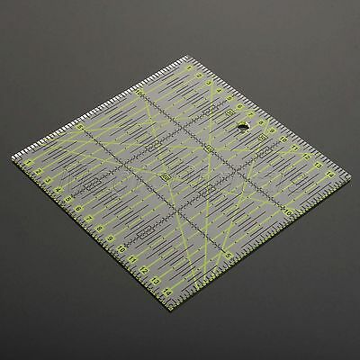 Quilting Quilters Craft Patchwork Rectangle Ruler Sewing Craft DIY Tools 15*15cm