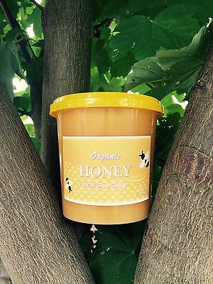 100 % Pure Raw Organic Natural Real Honey 1Kg Harvest 2016