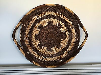 Collectable New Guinea Woven Baku Tray with handles