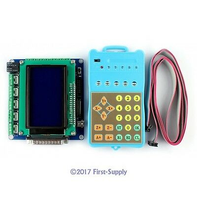 3rd Gen 5Axis CNC Router Breakout Board Set Display/Control Panel Gcode Recorded