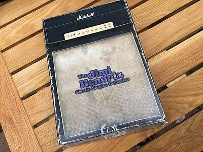 JIMI HENDRIX CLASSIC SINGLES COLLECTION BOX and BOOKLET ONLY Ltd ED