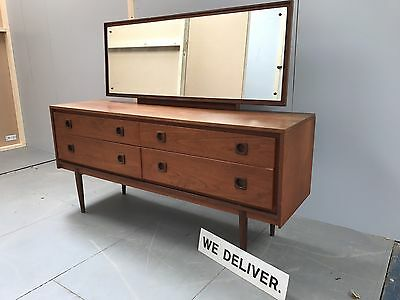 Fantastic Retro Teak G Plan Style dressing Table / Chest - Delivery £55!!
