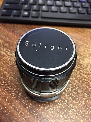 Vintage Soligor 105mm F2.8 Telephoto Lens Pentax Mount