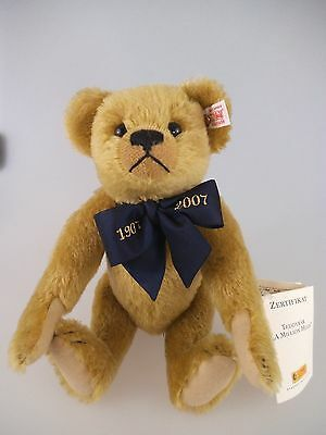 Steiff Teddy 1907 - 2007 A Million Hugs messing 038778 limitierte Auflage (601b)