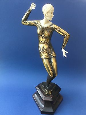 Preiss  Art Deco Figure 'Dancer' Vintage Reproduction