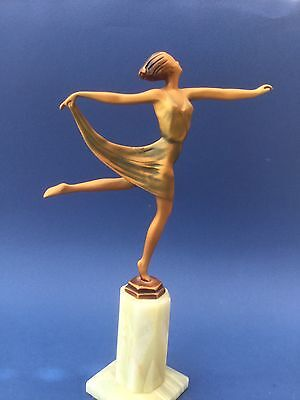 Lorenzl Art Deco Figure Vintage Reproduction
