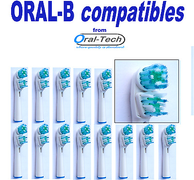 ORAL-B compatible DUAL CLEAN electric toothbrush replacement Brush Heads