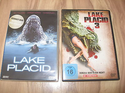 Lake Placid 1 + Lake Placid 3 * 2 DVDs