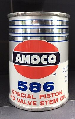 Vintage Amoco 586 Oil Can Coin Bank, NEW!