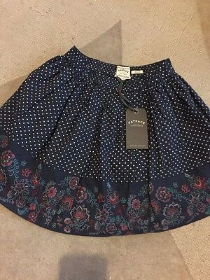 Brand New Girls Fat Face Skirt Age 8-9 Years