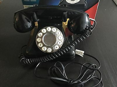 BUSH SAVOY TELEPHONE Touch Button Dialing Retro Vintage Phone With Box