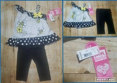 Girls Infant toddler 2 pc. outfit for spring summer Nice! sz. 3T