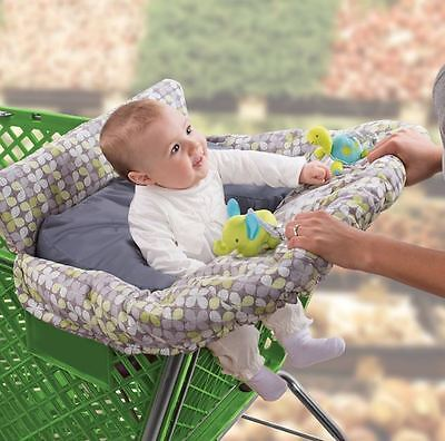 Grocery Cart Cover For Baby Seat Positioner High Chair Portable Toddler Safety
