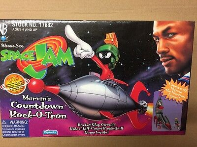 Marvin the Martian Space Jam Countdown Rock-O-Tron - Complete In Box!