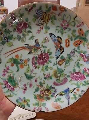 Antique Chinese Plate c18th/19th Century sealmarks some provenance