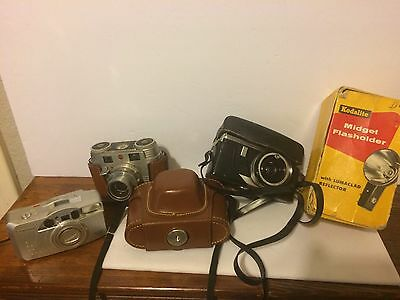 CAMERA Lot Of 5--Vintage- Untested
