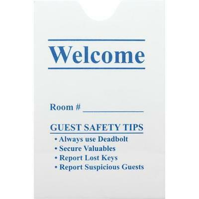 Thumb Notch Hotel Key Card Envelope, Case Of 500, S-KEN-GEN-500 Keycard