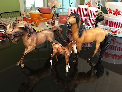 Breyer Traditional Horse Family Lot Of 3 Models