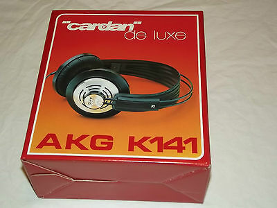 AKG K141 Stereo Headphone Vintage NEW N.O.S