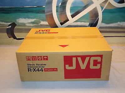 JVC R-X44 Stereo Receiver Amplifier New in Box Made In Japan N.O.S