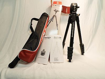 Manfrotto Compact Camera Video Tripod MKC3-01HM 60""