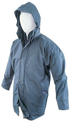 Seal Flex Navy Parka TOUGH BREATHABLE WET WEATHER GEAR