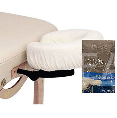 Face Rest Cover - Fitted 100% Flannel Cotton - 2 Pack - Latte