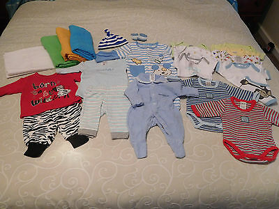 Baby Boys' Size 0000 Bulk Clothing