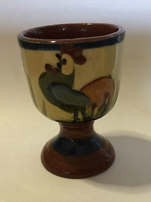 Torquay Motto Ware Rooster/Cockerel Egg Cup