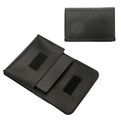 Soft PU Leather Storage Pouch Bag Organizer Case for 2.5'' External Hard Drive