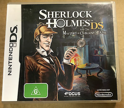Sherlock Holmes and the Mystery of Osborne House (Nintendo DS, 2010)