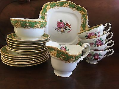Royal doulton - Paragon fine bone china Tea set (19 pcs)