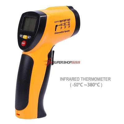 Temperature Digital Non-contact Thermometer Pyrometer Infrared IR Laser Temp Gun