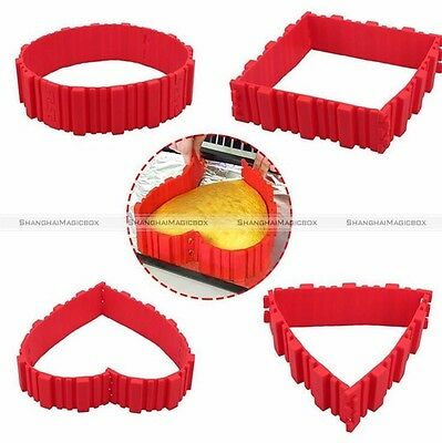 Silicone Cake Mold Magic Bake Snakes Create Chape Nonstick Tray Baking Mould S1