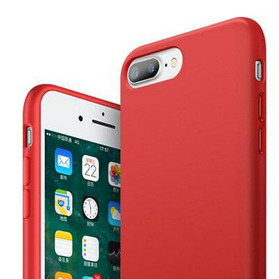 Liquid Silicone Slim Fit Shockproof Ultra Soft Case Cover For iPhone 7 6s Plus