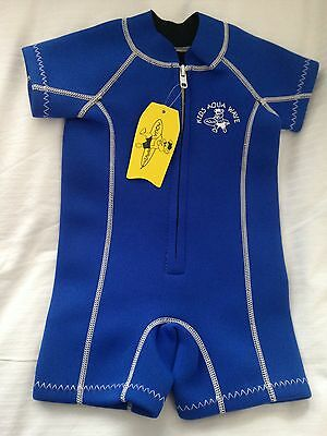 Boys Wetsuit 12-18 Months Blue Baby BNWT