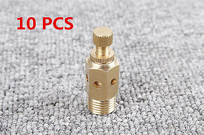"Exhaust Speed Control Muffler Air Flow Control 1/2"" PT Thread Pneumatic 10pcs"