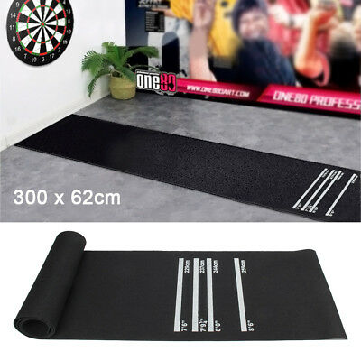 Professional Rubber Darts Dart Mat Heavy Duty Pub Club Home 4 Throwing Distances