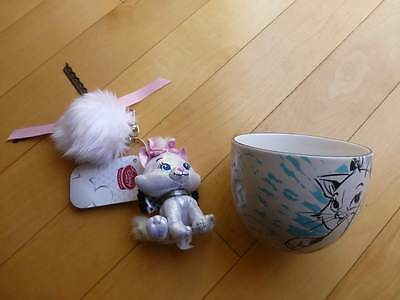 Brand New Disney Marie Cat Mug Cup Keychain Japan Store