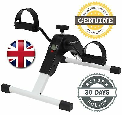 Indoor Exercise Arm Leg Pedal Exerciser Mini Digital Fitness Bike Folding Pedal