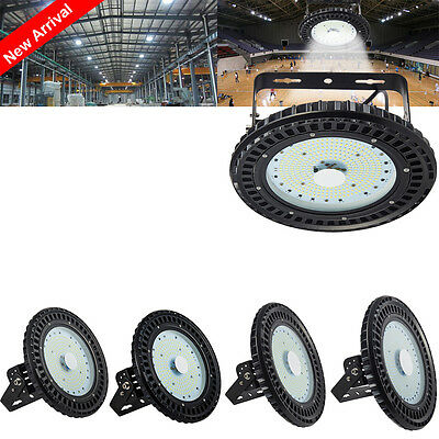 UFO LED High Bay Light 100W 150W 200W 250W Commercial Warehouse  Industrial Lamp