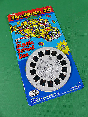 Sawyers View Master 3x Reel Set - The Magic Schoolbus - MOC - NOS