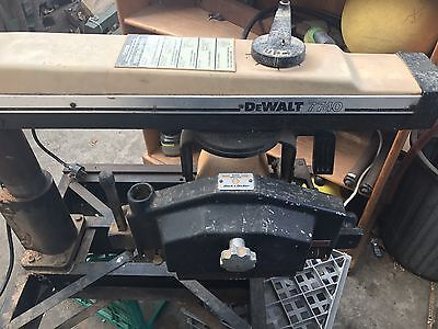 German / Desalt radial arm saw