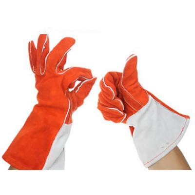 Protective Welding Gloves Cowhide Gloves Welders Gloves Cotton Lined L