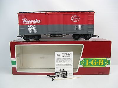 LGB 4067 F01 G-Scale NYC Pacemaker Box Car