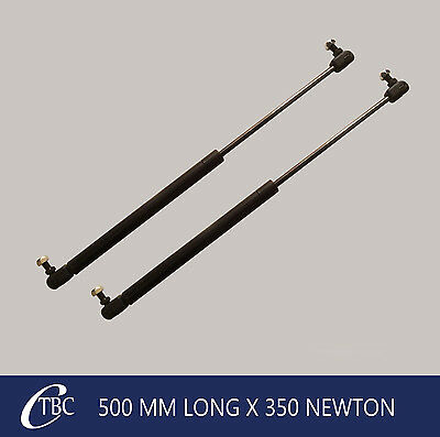 1 Pair 500mm Long x 350N Gas Struts Springs Caravan Camper Trailer Canopy Strut